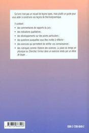 Lecons D'Electromagnetisme Agregation De Sciences Physiques - 4ème de couverture - Format classique