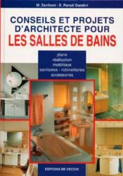 Conseils Et Projets D'Architecte Pour Les Salles De Bains - Couverture - Format classique