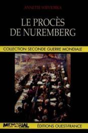 Proces de nuremberg - Couverture - Format classique