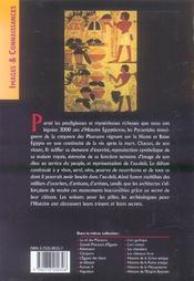 Pyramides D'Egypte - 4ème de couverture - Format classique