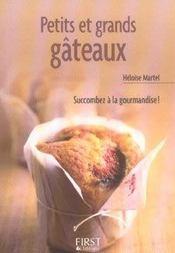 Le Petit Livre De Cuisine ; Petits Et Grands Gâteaux - Intérieur - Format classique