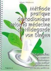 Methode Prat. Radionique Hildegarde - Couverture - Format classique