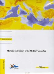 Morpho-Bathymetry Of The Mediterranean Sea - Echelle 1/2 000000 - 2 Cartes Pliee - Couverture - Format classique