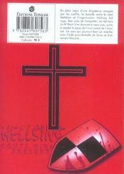 Hellsing t.7 - 4ème de couverture - Format classique