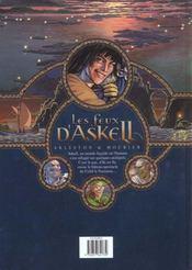 Les feux d'Askell t.1; l'onguent admirable - 4ème de couverture - Format classique