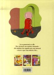 Ulice le lapin t.3 ; ulice le lapin et le distributeur - 4ème de couverture - Format classique
