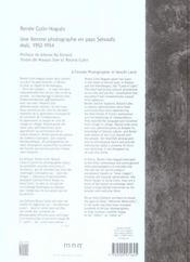 Senoufo du Mali - 4ème de couverture - Format classique