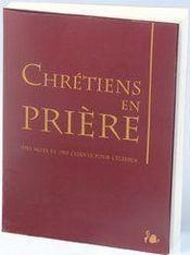 Liturgie ; chrétiens en prière - Couverture - Format classique