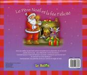 Conte de noël pop-up - 4ème de couverture - Format classique