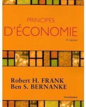 Principes D'Economie (4e Edition) - Couverture - Format classique