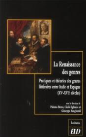 La renaissance des genres - Couverture - Format classique