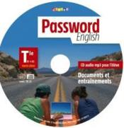 Vente livre :  PASSWORD ENGLISH ; terminale ; CD mp3 de remplacement  - Collectif