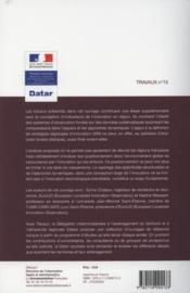 TRAVAUX (DIACT) T.15 ; géographie de l'innovation en Europe ; observer la diversité des régions françaises - 4ème de couverture - Format classique