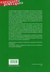 Droit des biens - 4ème de couverture - Format classique