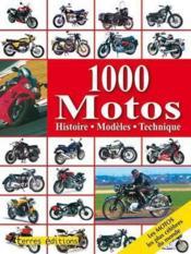 1000 motos - Couverture - Format classique