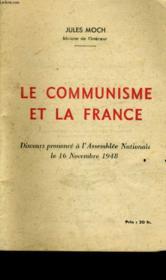 Le Communisme Et La France. - Couverture - Format classique