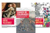 Lot de 3 cahiers de coloriages pour adultes