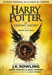 Harry Potter Et L'Enfant Maudit ; Parties I Et Ii - Couverture - Format classique