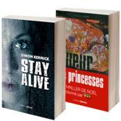 Lot de 2 thrillers ; Tueur de princesses - Stay alive - Couverture - Format classique