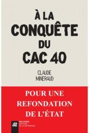 À la conquête du CAC 40 - Couverture - Format classique