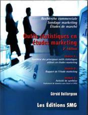 Outils statistiques en études marketing (2e édition) - Couverture - Format classique