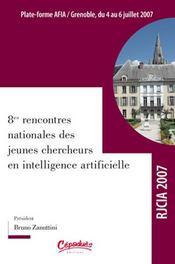 Huitièmes rencontres nationales des jeunes chercheurs en i.a. - Intérieur - Format classique