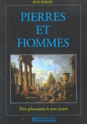 Pierres et hommes : des pharaons a nos jours - Intérieur - Format classique