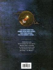 La conjuration d'opale t.2 ; la loge - 4ème de couverture - Format classique
