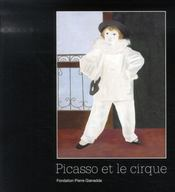 Picasso et le cirque - Intérieur - Format classique