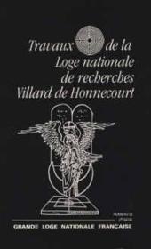 Travaux de la loge nationale n.33 - Couverture - Format classique