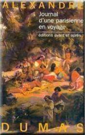 Journal d'une parisienne en voyage - Couverture - Format classique