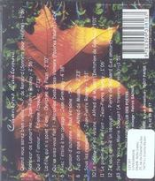Chansons d'automne - 4ème de couverture - Format classique