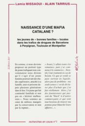 Naissance D'Une Mafia Catalane ? - Couverture - Format classique