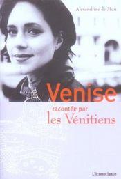 Venise Racontee Par Les Venitiens - Intérieur - Format classique