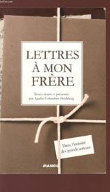 Lettres a mon frère - Couverture - Format classique