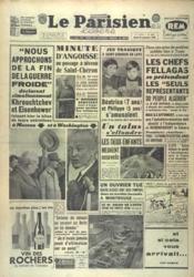 Parisien Libere Edition De 5 Heures (Le) N°4681 du 29/09/1959 - Couverture - Format classique