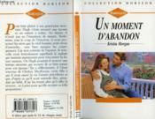 Un Moment D'Abandon - First Comes Baby - Couverture - Format classique