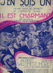 Il Est Charmant - N°5 : J'En Suis Un - Piano Et Chant. - Couverture - Format classique
