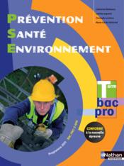 Vente  Prevention sante environnement term bac pro (manuel) eleve 2015  - Barbeaux Collet C.