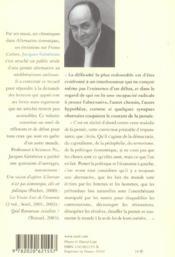 Chroniques D'Un Autre Monde. Suivi Du Manifeste Pour L'Economie Humaine - 4ème de couverture - Format classique