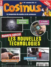 Vente livre :  Cosinus n 187 intelligences artificielles novembre 2016  - Collectif