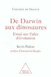 De Darwin Aux Dinosaures - Intérieur - Format classique