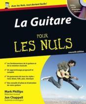 La guitare pour les nuls (2e édition) - Couverture - Format classique