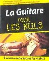 La guitare pour les nuls (2e édition) - Intérieur - Format classique