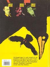Le choucas t.1 ; le choucas rapplique - 4ème de couverture - Format classique