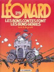 Léonard t.29 ; les bons contes font les bons génies - Intérieur - Format classique