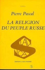 La religion du peuple russe - Couverture - Format classique