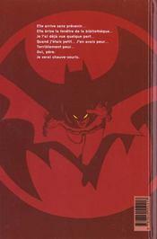 Batman - 4ème de couverture - Format classique