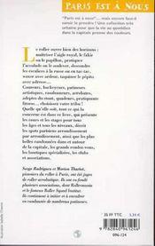 Le Roller A Paris - 4ème de couverture - Format classique
