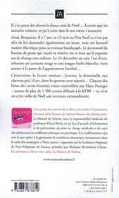 Belles histoires du temps de noël - 4ème de couverture - Format classique